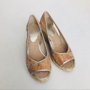Donald J. Pliner Shoes - ✨SALE✨Donald J. Pliner: Cork Wedge Espadrilles
